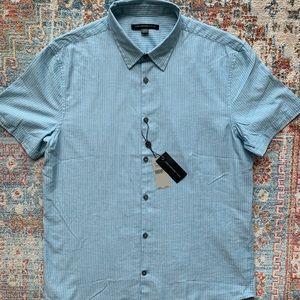 John Varvatos Short Sleeve Shirt Pattern Shirt